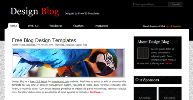 Design Blog Template 2